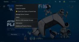 소니 플레이스테이션5 4월 업데이트 진행